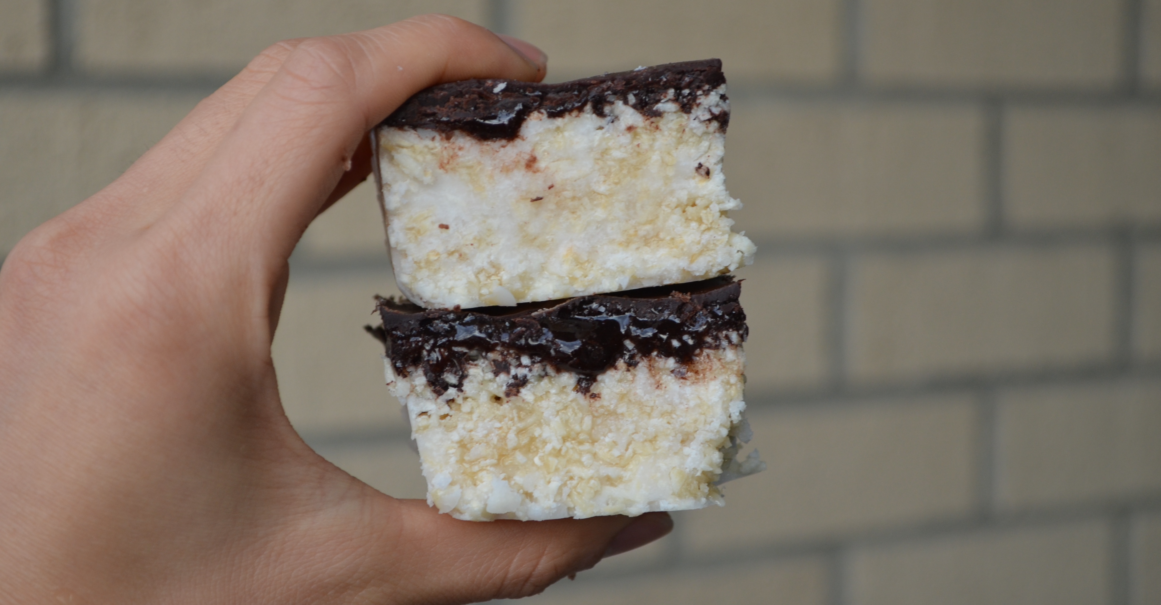 Healthy Chocolate Coconut Bars