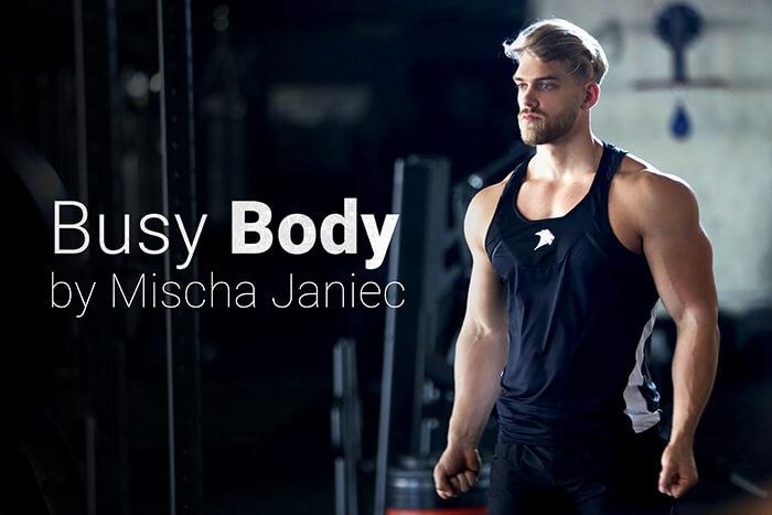 Busy Body by Mischa Janiec